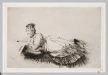 Giuseppe De Nittis, La lettura, XIX secolo, Stampa