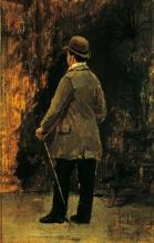 Giuseppe De Nittis, Ritratto del pittore Edoardo Dalbono, XIX secolo, Collezione privata