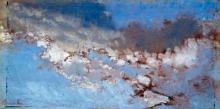 Giuseppe De Nittis, Studio di nuvole, seconda metà del XIX secolo