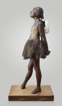 Edgar Degas, Piccola ballerina di quindici anni [profilo]