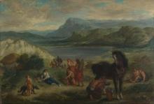 Delacroix, Ovidio tra gli Sciti [1859].jpg