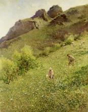 Achille Formis, Maggengo, 1906, Collezione privata