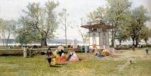 Achille Formis, Sulle rive del Bosforo, Collezione privata