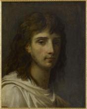 Antoine-Jean Gros (Parigi 1771 - Parigi 1835): Autoritratto, 1795, Olio su tela, cm. 49 x 40, Versailles, Musée National des Châteaux de Versailles et de Trianon