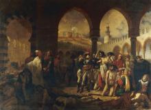 Gros, Bonaparte in visita agli appestati di Jaffa.png