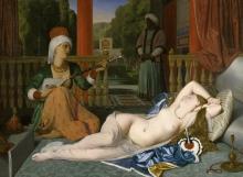 Ingres, Odalisca con la schiava [1842].jpg