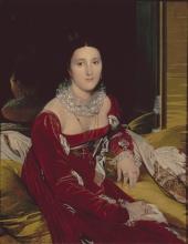 Jean Auguste Dominique Ingres [Montauban (Tarn-et-Garonne), 1780 - Paris (Paris), 1867], Portrait de Madame de Senonnes, 1814, olio su tela, 106 x 84 cm,  Musée des Beaux Arts de Nantes