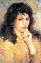 Silvestro Lega, La pensosa, seconda metà del XIX secolo, Dipinto