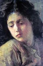 Silvestro Lega, La scellerata, 1893, Dipinto