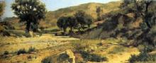 Silvestro Lega, Paesaggio, 1875, Dipinto