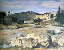 Silvestro Lega, Pian del Mugnone, 1873-1875, Dipinto