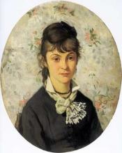 Lega, Ritratto di fanciulla,1875, Dipinto