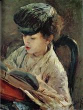 Antonio Mancini, Bambino che legge, 1885 circa