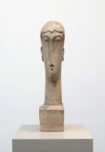 Modigliani, Testa di donna (Ceroni XX).jpg
