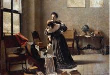Angelo Morbelli, La fuga, Collezione privata