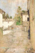 Giuseppe Pellizza da Volpedo, Via del Molino a Volpedo, Collezione privata