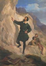 Antonio Puccinelli, Michelangelo, 1860