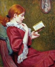 Federico Zandomeneghi, Il buon libro, 1897