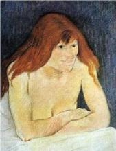 Federico Zandomeneghi, La roussotte, 1888