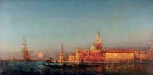 Félix Ziem, Gondole davanti San Marco