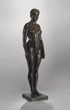 Zorn, Donna nuda | Femme nue | Nude woman, 1911, Bronzo, cm. 102