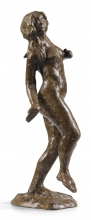 Zorn, Giovane donna nuda | Jeune femme nue | Naked young woman, 1899, Bronzo, cm. 46,5