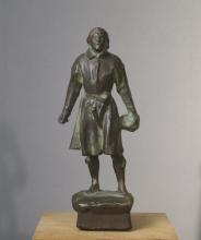 Zorn, Gustav Vasa, 1900 circa, Bronzo, cm. 19, Nationalmuseum, Stockholm, NMSk 1305, Doni di Emma Zorn, 1927