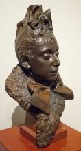 Zorn, Testa di donna | Tête de femme | Head of a woman, 1889, Bronzo