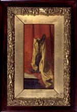 Giuseppe Abbati (attribuito a), Natura morta con vaso
