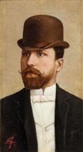 Giuseppe Abbati, Ritratto di uomo