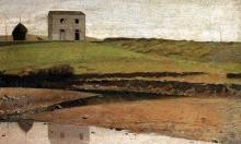 Giuseppe Abbati, Casa sul botro