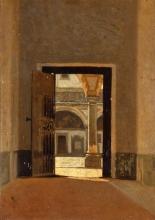 Giuseppe Abbati, Chiostro di San Marco