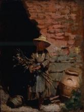 Giuseppe Abbati, Contadinella al sole