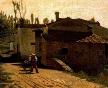 Giuseppe Abbati, Il lattaio di Piagentina