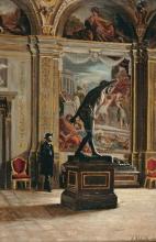 Giuseppe Abbati, In visita al museo