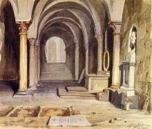 Giuseppe Abbati, Interno di San Miniato al Monte