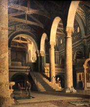 Giuseppe Abbati, Interno di San Miniato