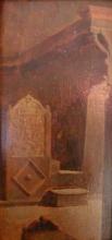 Giuseppe Abbati, Interno di un monumento