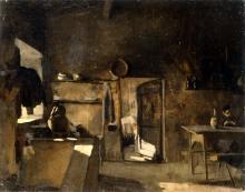 Giuseppe Abbati, Interno rustico