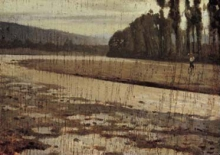 Giuseppe Abbati, L'Arno a Bellariva