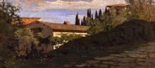 Giuseppe Abbati, Paesaggio fiesolano