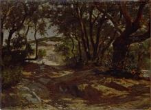 Giuseppe Abbati, Paesaggio toscano