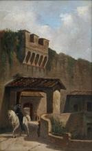 Giuseppe Abbati, Porta San Giorgio
