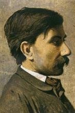 Giuseppe Abbati, Ritratto d'uomo