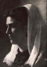 Giuseppe Abbati, Ritratto di donna