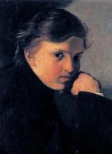 Giuseppe Abbati, Ritratto di giovane artista