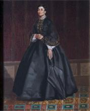 Giuseppe Abbati, Ritratto di signora