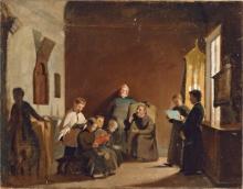 Giuseppe Abbati, Schola cantorum