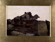 Giuseppe Abbati, Scogli a Castiglioncello