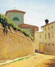 Giuseppe Abbati, Stradina al sole